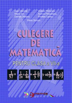 Culegere De Matematica Clasa A VII