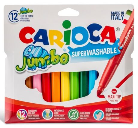 CARIOCA® Jumbo 12/set Superlavabile