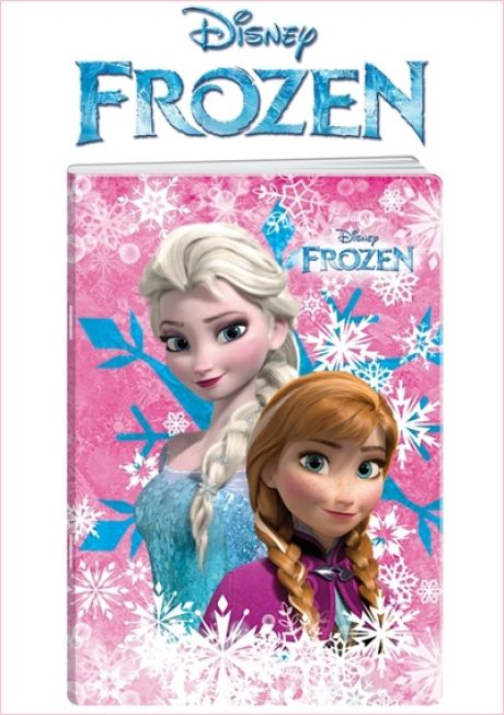 "Caiet dictando A5-52 File 80g/mp Extra Strong-coperta licenta Disney ""Frozen 3D"""